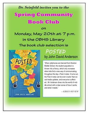 spring community book club flyer