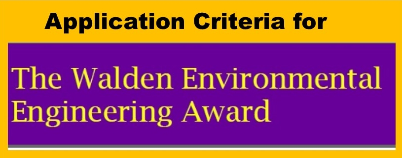 Walden Engineering Award