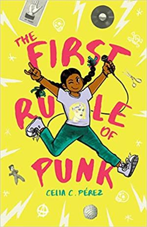 book cover first rule of punk