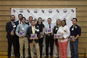 Eleven Stand-Outs Inducted into OBHS Athletic Hall of Fame