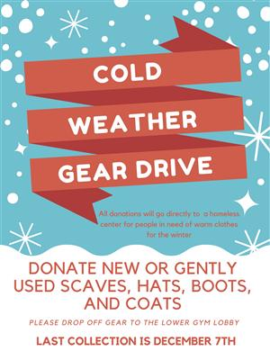 Cold Weather Gear Drive