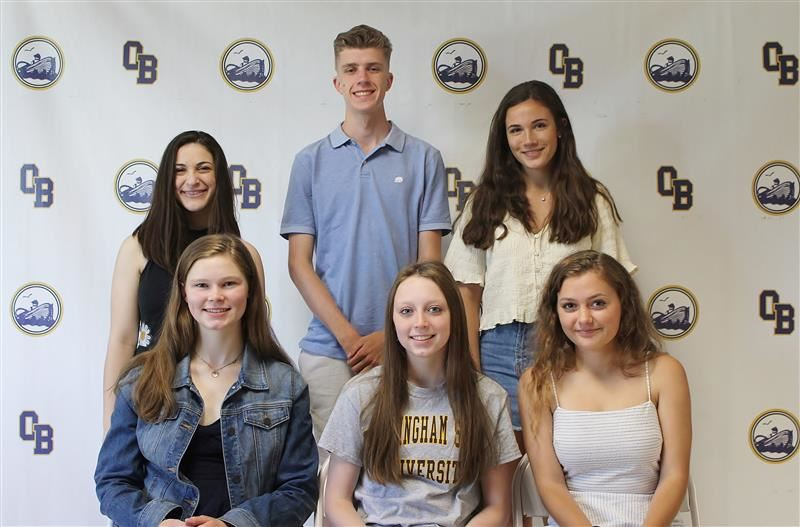 6 OBHS athletes to play college sports