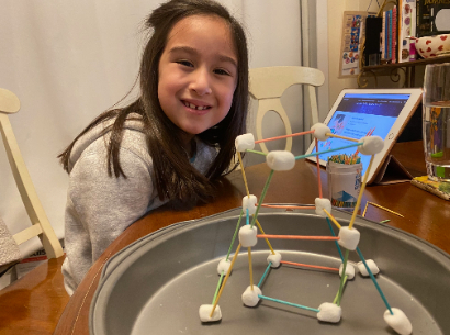students celebrate STEM Week