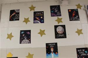 space decorations for parp