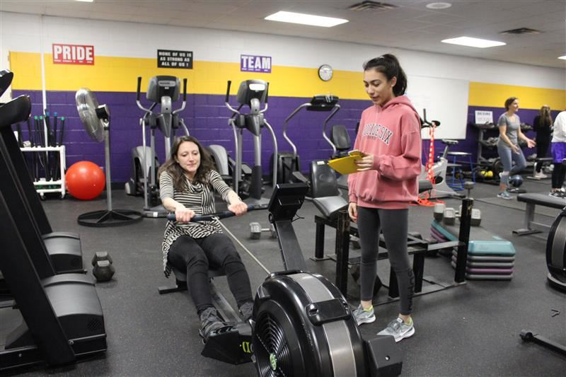 Students train teachers for exercise science project