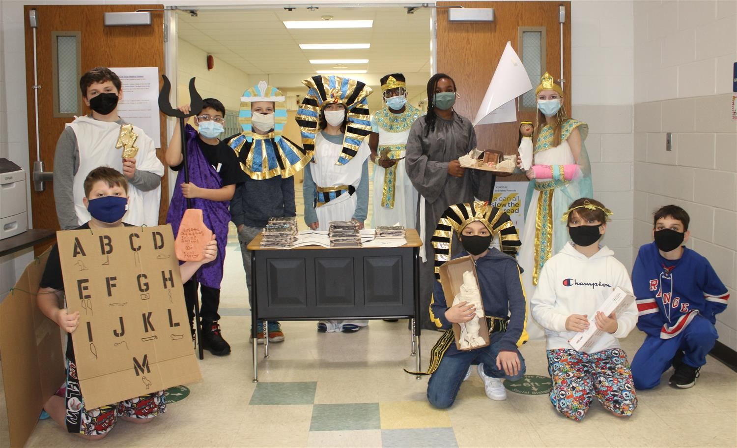 6th grade celebrates ancient civilizations