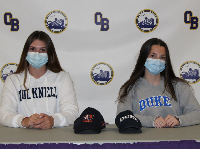 Alina Kelly and Rachel Kowalsky sign to play college sports