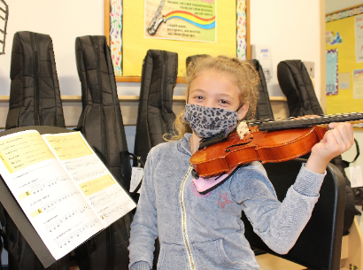 Strings Program Debuts at Vernon School