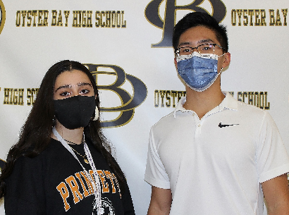 OBHS Announces Top Two Students of Class of 2021
