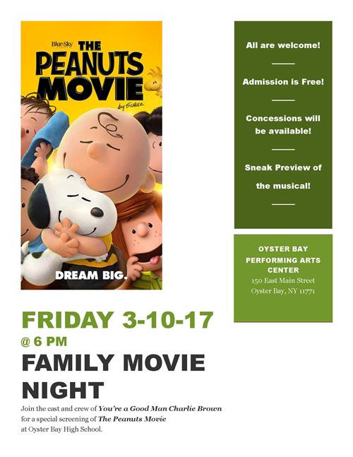 Family Movie Night Poster