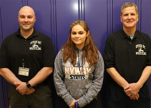 All-State Wrestler & coaches