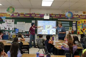Audubon visits 4th grade