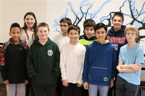 Geographic Bee Finalists