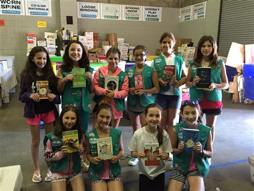 Girl Scouts Win Bronze Award