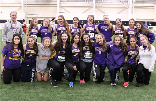 Girls Winter Track Team