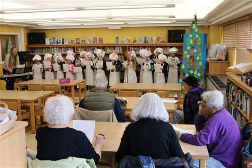 Kids Entertain seniors from the LEC