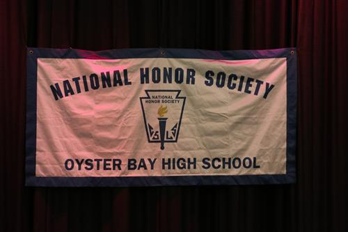 Honor Society Banner