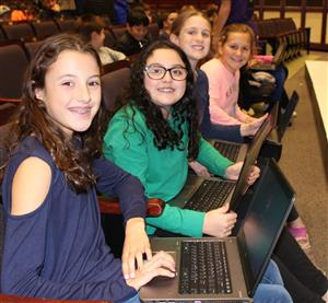 older students at night of code