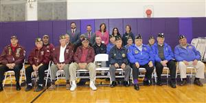 veterans with staff