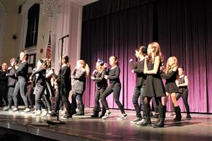 Vernon International Club performs a dance routine