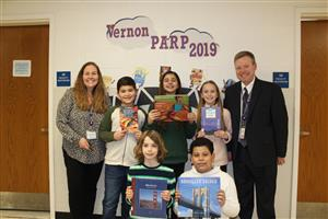 kids with books for PARP 2019