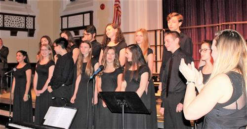 the OBHS Chamber Singers