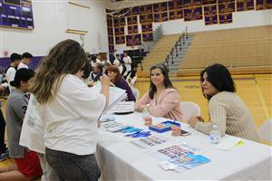 Students learn about orthodontics