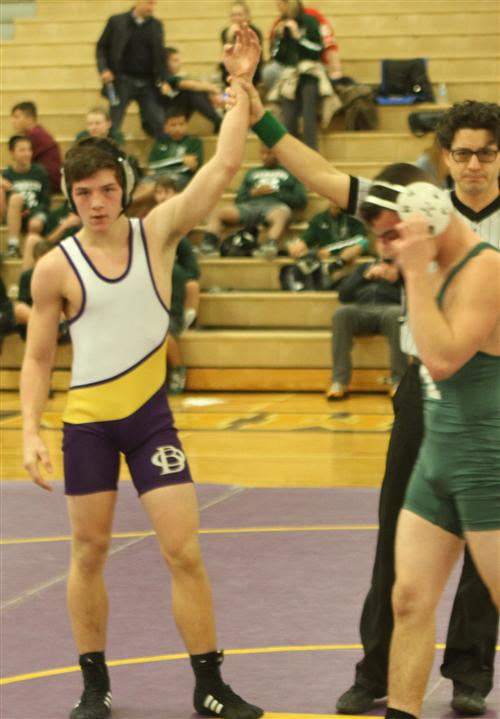 In his first season as head coach of the Baymen Varsity Wrestling Team, Coach John Brush has had a great run.  Coach Brush sa