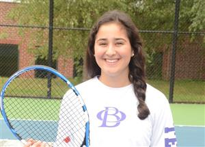 Jessica Layne Athlete of the Month for Tennis
