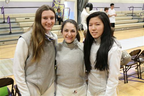 Long Island 1st Team Fencers