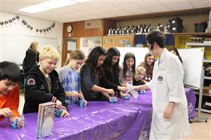 Mad Science helps students create slime