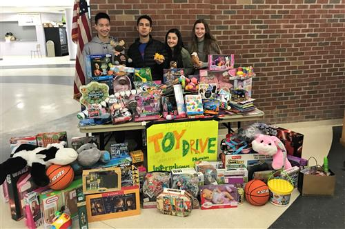 OBHS toy drive 2017