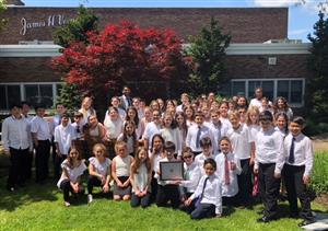 vernon intermediate band with award