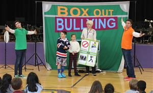 box out bullying assembly at vernon