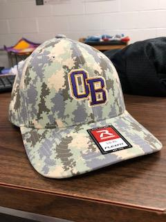 camouflage baseball caps are being sold to support local veterans