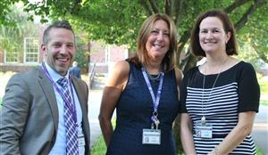 OBHS principals at opening day