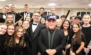 wind ensemble with Billy Joel
