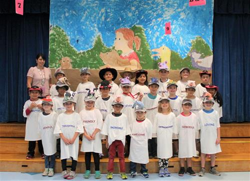 Ms. Patti's Readers Theater class photo